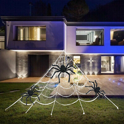 Halloween Dekorationen Outdoor Scary Decor Dreieckige Mega Spider - Outdoor Halloween Dekoration
