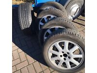Mondeo/connect alloy wheels and tyres