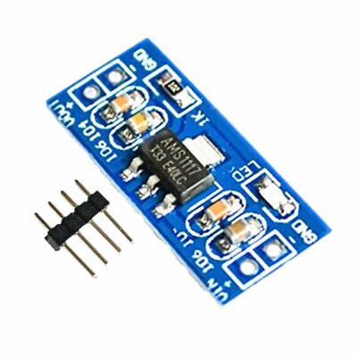 Ams1117 5.0v Power Supply Module Voltage Regulator Dc-dc 6-12v To 5.0v