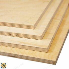Birch Plywood - WBP Birch Plywood Sheets Baltic Birch Ply BB/BB BB/CP Grade
