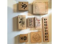 Crafting Stamps - selection £1 each - great selection collection only
