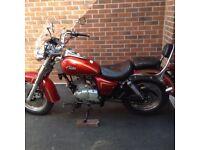 Sinnis Vista Motorbike