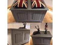 Blanket box storage chest toy box