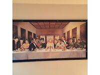 Last Dinner Art Frame for sales!