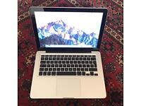 2012 Macbook Pro 13.3, i5, 8gb ram, upgraded to SSD & 1tb drive