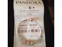 Pandora bracelet with receipt