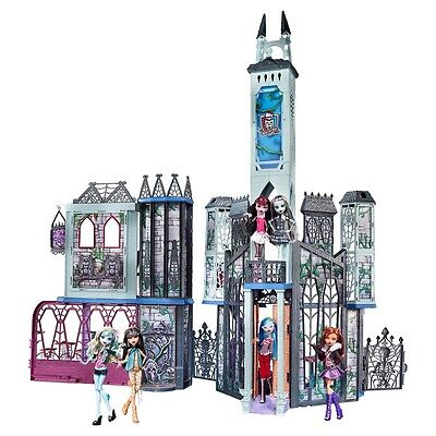 Monster High Doll House Deluxe High School Creepy Playset Furniture NEW!