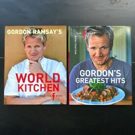 6 Food book collection: 3 Gordon Ramsay books and more! £10 for all!