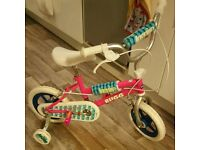 3-5 yrs Girl Bike