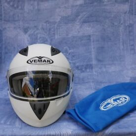 Motorbike helmet Vemar Jianino size small, suitable for child.