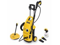 Powerplus 135 Bar1900w Power Washer with Accessories & Patio Cleaner POWXG9025