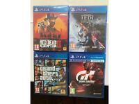PS4 AAA games bundle Red Dead Redemption 2 & Star Wars Fallen order included