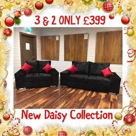 GORGEOUS brand new DQF Daisy 3+2 ONLY £399