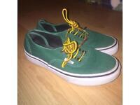 Classic Green VANS Shoes