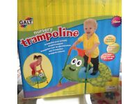 galt baby trampoline with box
