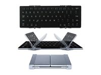 Mini Wireless Keyboard EC Technology Foldable Bluetooth Keyboard Ultra-Slim