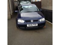 VW GOLF GDI for sale