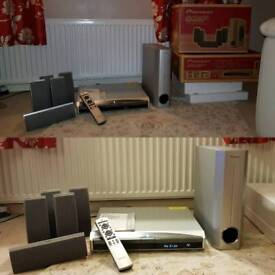 Pioneer Dolby Surround System + DVD Player
