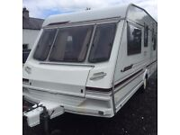 ABBEY 5/6 BERTH CARAVAN GREAT CONDITION INSIDE AND OUTSIDE