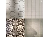 Assorted tiles for bathroom / kitchen / toilet (50% off!)