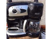 De Longhi Combi Coffee Machine