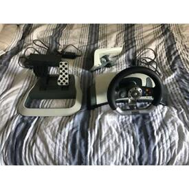 Logitech G29 + Shifter + Omega GT Stand + Project Cars 2 & Assetto