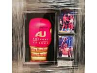 Anthony Joshua Signed & Professionally Framed Commemorative Boxing Glove