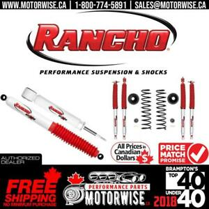 Rancho Performance Shocks & Suspension | Free Fast Shipping Canada Wide | Order Today at www.motorwise.ca