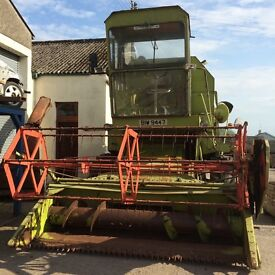 CLAAS COMBINE HARVESTOR FOR SALE