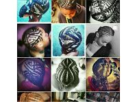 Braidzbyman. Mobile hairstyling (braiding) (teaching)