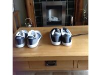 2 Pairs of men's trainers