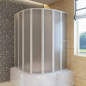 Shower Bath Screen Wall 140 x 168 cm(140786)vidaXL Mount Kuring-gai Hornsby Area Preview
