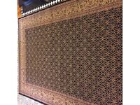 100 % genuine Iran manufactured Rug, 300 cm by 200 cm in excellent condition