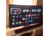 "SAMSUNG 55"" Smart 3D FULL HD TV,built in Wifi,Freeview HD,NETFLIX, Excellent condition"