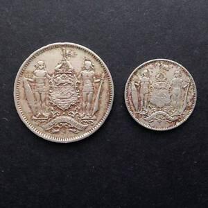 Coins: British – State of North Borneo 1902 5c & 1935 1c – RARE! Findon Charles Sturt Area Preview
