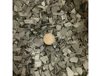 Slate Chippings 20KG bag 5mm to 20mm Garden Plant Topping Path Landscape Mulch