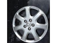 Peugeot wheel trim