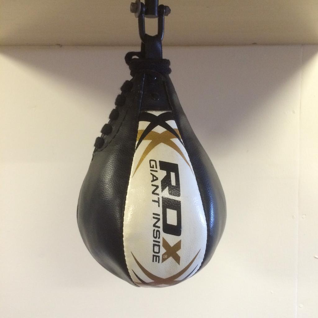 RDX Premium leather speedball