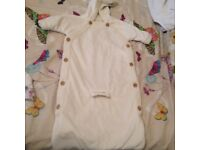 Mamma n papa all in one winter blanket style coat ideal for her carrier - buckle hole