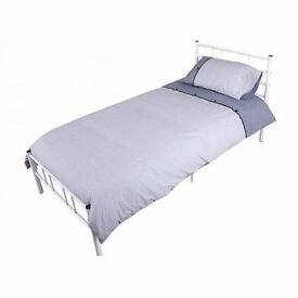 Bed Frame - white 3ft