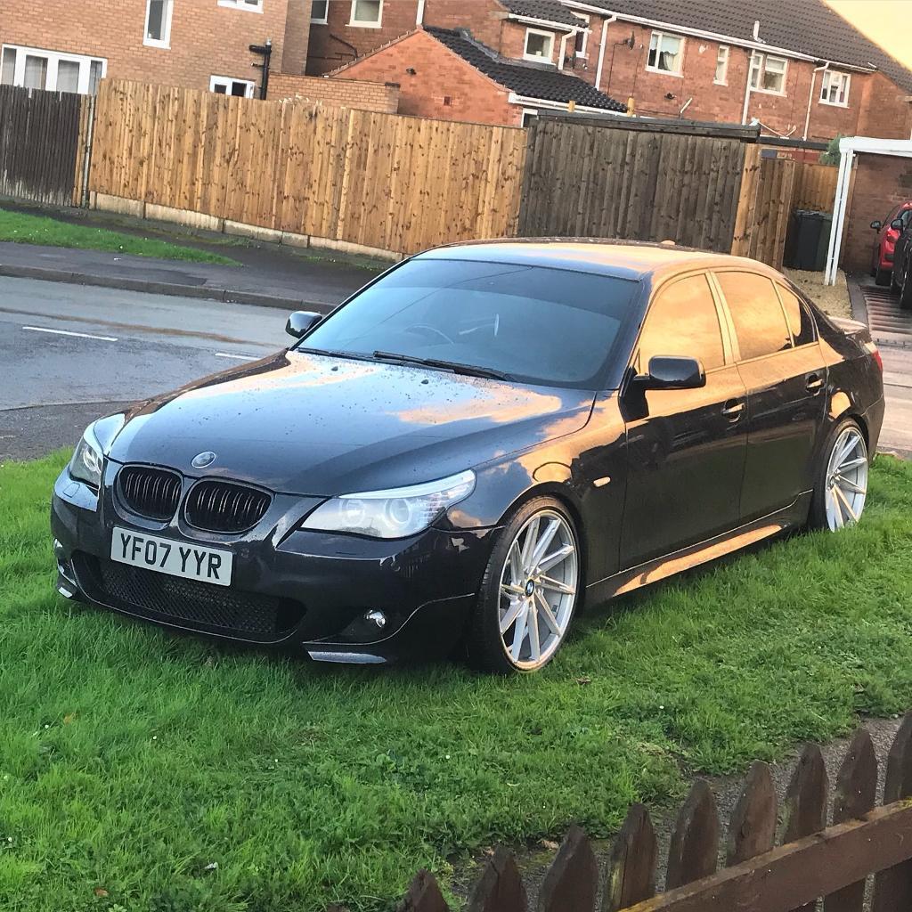 BMW E60 525d 3.0 msport lci 255bhp/500nm