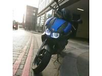 Gilera Runner st200 reg as 125 blue wraped angle eyes
