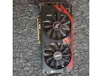 Radeon AMD R9 280 MSI graphics card
