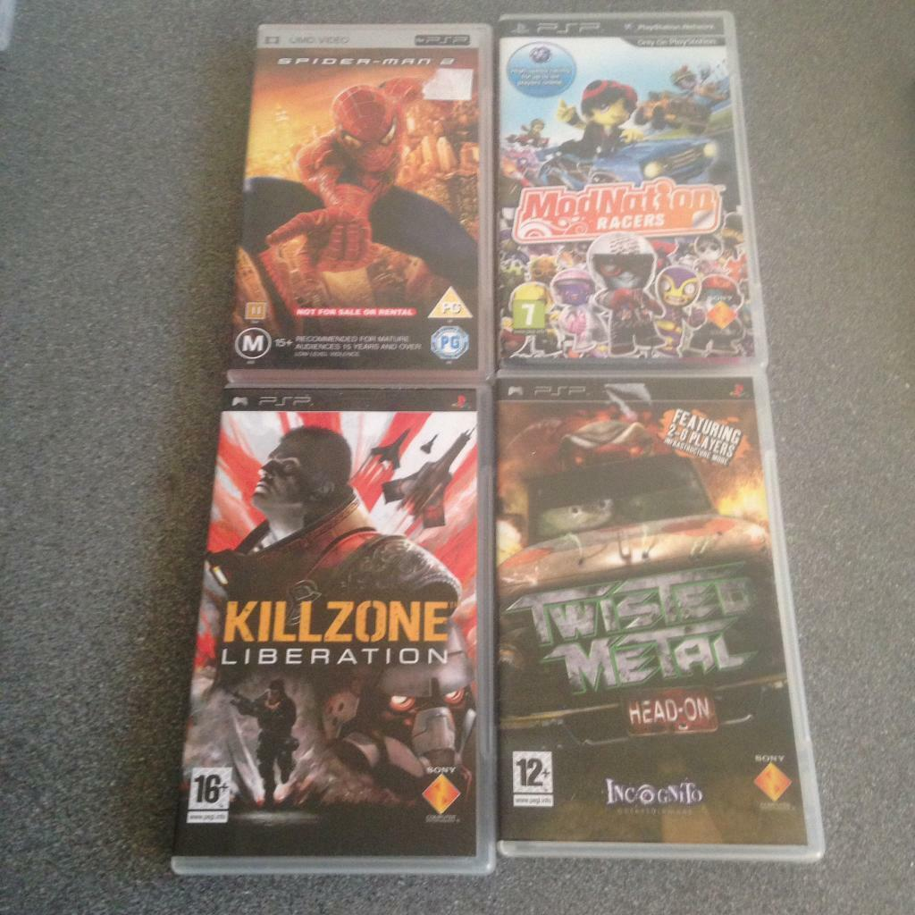 Sony PSP games collection g