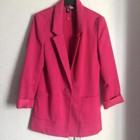 Pink H&M woman's blazer