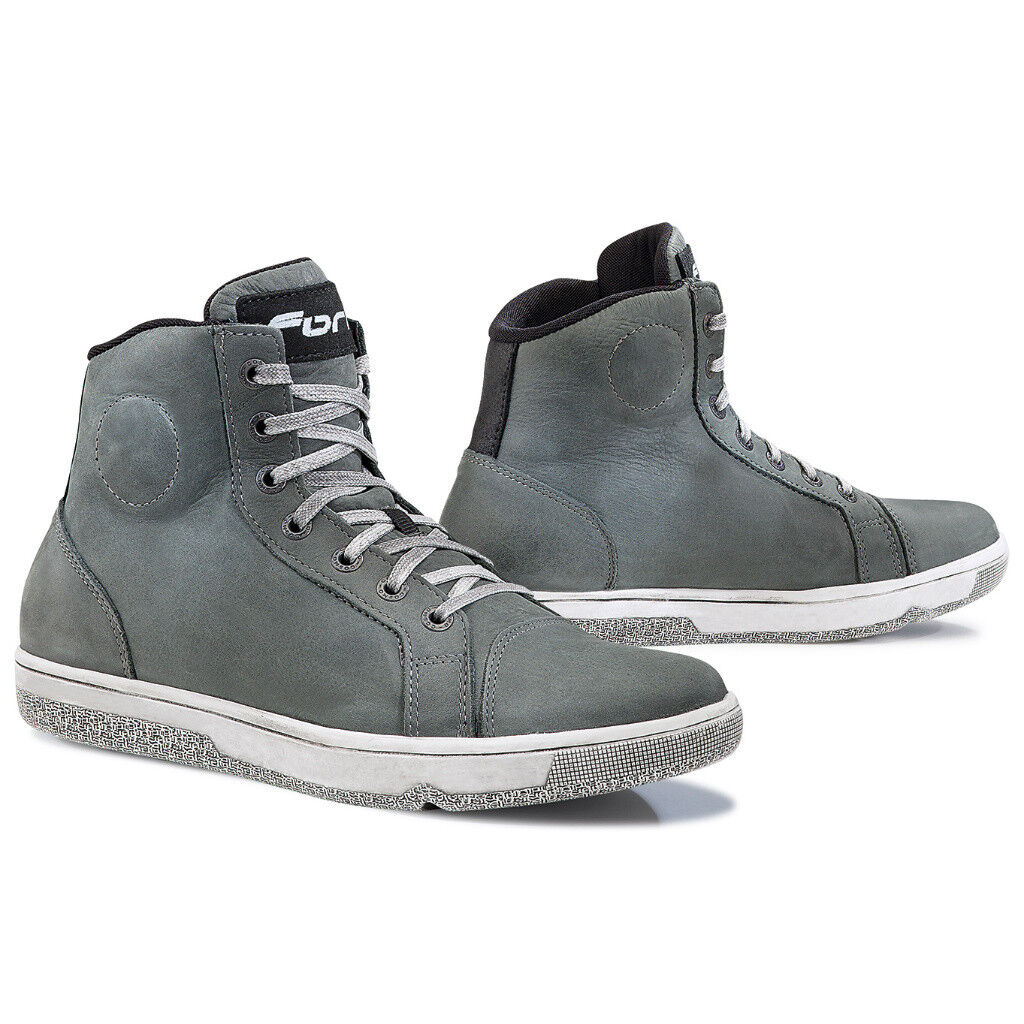 Forma SLAM DRY grey waterproof street urban motorcycle boots