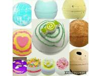 Pudding Scented Bath Bombs