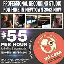 RECORDING STUDIO SYDNEY 2042 NSW Newtown Inner Sydney Preview