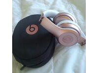 Rose Gold Beats Solo 3's - Perfect Condition