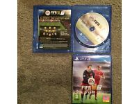 Fifa 15 and 16 for sale together. Can be collected. Any more details call me